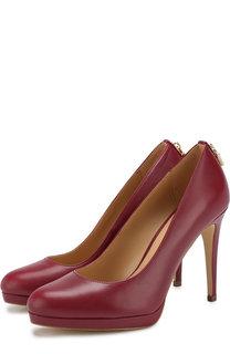 Кожаные туфли Antoinette на шпильке MICHAEL Michael Kors