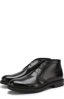 Кожаные ботинки с внутренней отделкой из овчины W.Gibbs