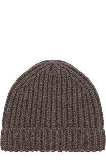 Кашемировая шапка фактурной вязки Svevo