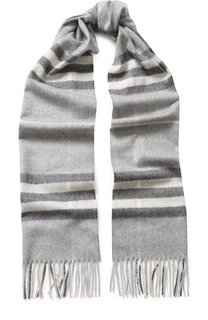 Кашемировый шарф с бахромой Burberry