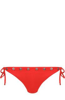 Плавки-бикини с декоративной отделкой Versace