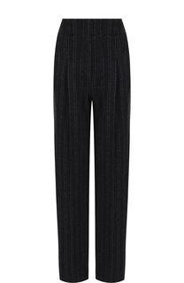 Кашемировые брюки прямого кроя со стрелками Loro Piana