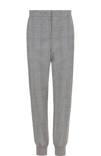 Шерстяные брюки с манжетами Escada Sport