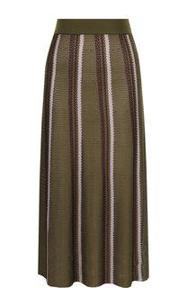 Вязаная юбка-миди с эластичным поясом Marni