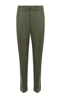 Хлопковые брюки со стрелками No. 21