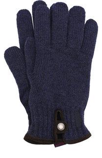 Шерстяные вязаные перчатки Paul&Shark