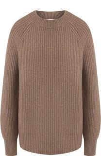 Кашемировый пуловер свободного кроя The Row
