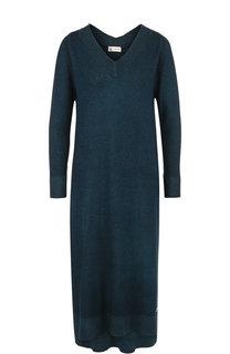 Вязаное платье-миди из смеси кашемира и шелка Colombo