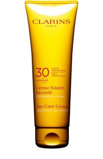 Солнцезащитный крем для лица и тела SPF 30 Crème Solaire Sécurité Clarins
