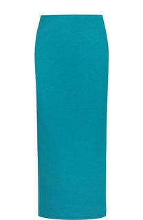 Однотонная юбка-миди с разрезом M Missoni