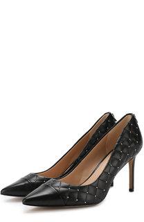 Кожаные туфли Ramona на шпильке DKNY