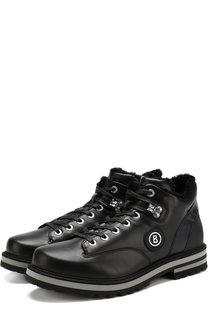 Кожаные ботинки с внутренней меховой отделкой Bogner