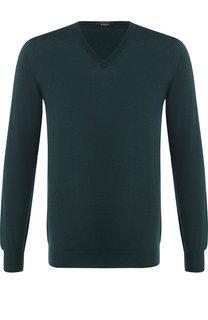 Пуловер из смеси кашемира и шелка Svevo
