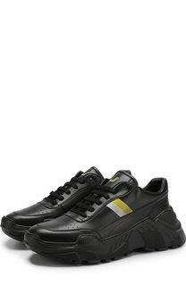 Кожаные кроссовки на шнуровке Joshua Sanders