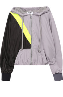 Куртка на молнии с капюшоном Natasha Zinko
