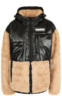 Куртка на молнии с капюшоном Alexander Wang