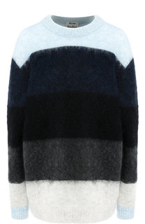 Пуловер в полоску с круглым вырезом Acne Studios