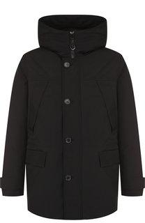 Утепленная куртка на молнии с капюшоном Kenzo