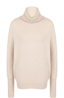 Вязаный пуловер с воротником-стойкой D.Exterior