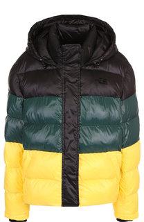 Стеганая куртка с капюшоном и воротником-стойкой Proenza Schouler