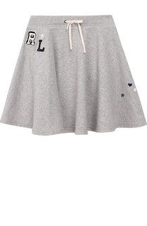 Хлопковая юбка Polo Ralph Lauren
