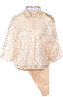 Блуза асимметричного кроя с разрезом на плече Walk of Shame