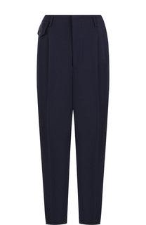 Однотонные шерстяные брюки со стрелками Golden Goose Deluxe Brand