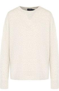 Пуловер из смеси хлопка и вискозы с бахромой Polo Ralph Lauren