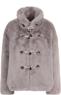 Укороченное пальто с воротником-стойкой Golden Goose Deluxe Brand