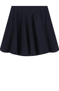 Хлопковая юбка со складками Polo Ralph Lauren