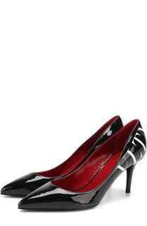 Лаковые туфли Valentino Garavani VLTN на шпильке Valentino