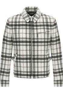 Шерстяная куртка на молнии с отложным воротником Ralph Lauren