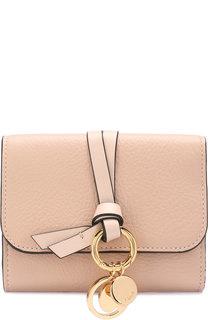 Кожаный кошелек Alphabet Chloé