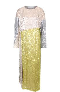 Платье-миди с пайетками и высоким разрезом Walk of Shame
