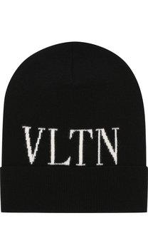 Шерстяная шапка VLTN Valentino