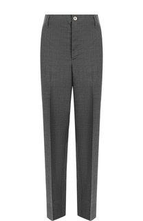 Укороченные шерстяные брюки со стрелками Golden Goose Deluxe Brand