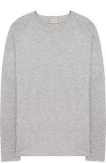 Пуловер из вискозы со стразами Kuxo