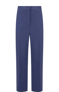 Укороченные расклешенные брюки со стрелками Fendi