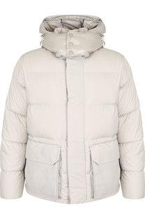 Утепленная куртка Glacier на молнии с капюшоном Moncler