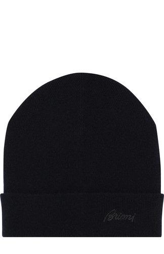 Кашемировая шапка с отворотом Brioni