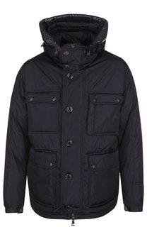 Утепленная куртка Jovet на молнии с капюшоном Moncler