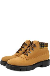 Кожаные ботинки на шнуровке O.X.S.