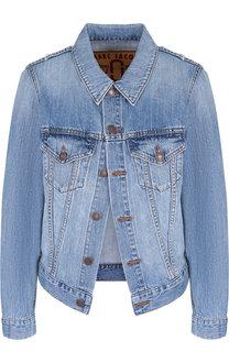 Джинсовая куртка с потертостями Marc Jacobs