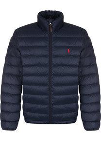 Утепленная куртка на молнии с воротником-стойкой Polo Ralph Lauren