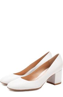 Кожаные туфли Gilda на устойчивом каблуке Gianvito Rossi