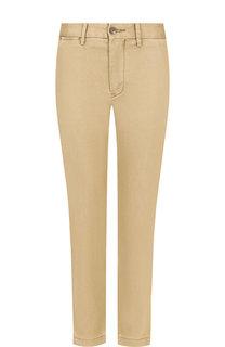 Однотонные укороченные джинсы Polo Ralph Lauren