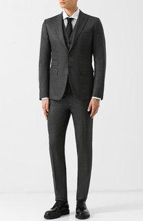 Шерстяной костюм-тройка Dsquared2