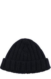 Шерстяная шапка фактурной вязки Dsquared2
