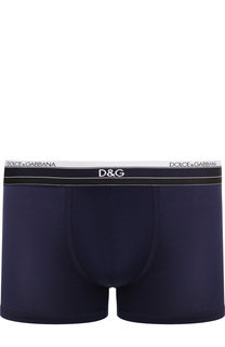 Хлопковые боксеры с широкой резинкой Dolce & Gabbana