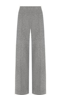 Однотонные брюки из смеси шерсти и кашемира Pringle Of Scotland